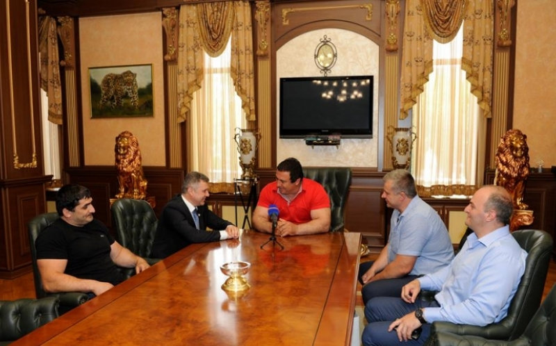 Assen Hadjit.visit Armenia