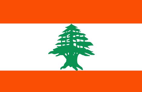 waf lebanon flag